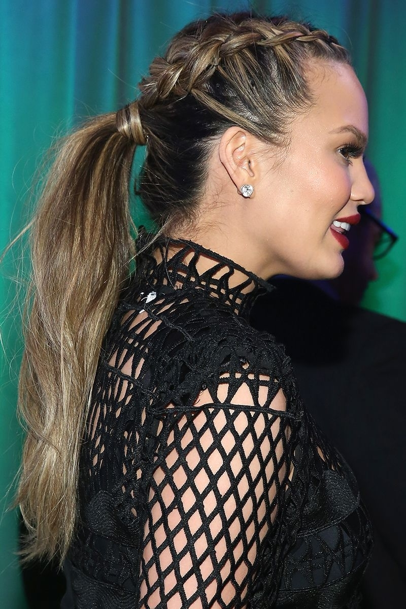20 New Ways To Wear A Ponytail – Best Celebrity Ponytails Of 2017 Regarding Most Current Poofy Pony Hairstyles With Face Framing Strands (View 3 of 20)