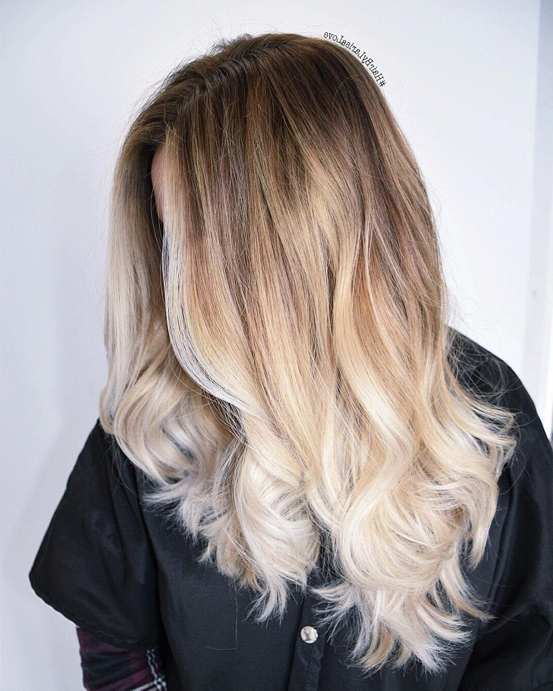 20 Perfect Ways To Get Beach Waves In Your Hair {2018 Update} Within Popular Blonde Ponytail Hairstyles With Beach Waves (View 3 of 20)