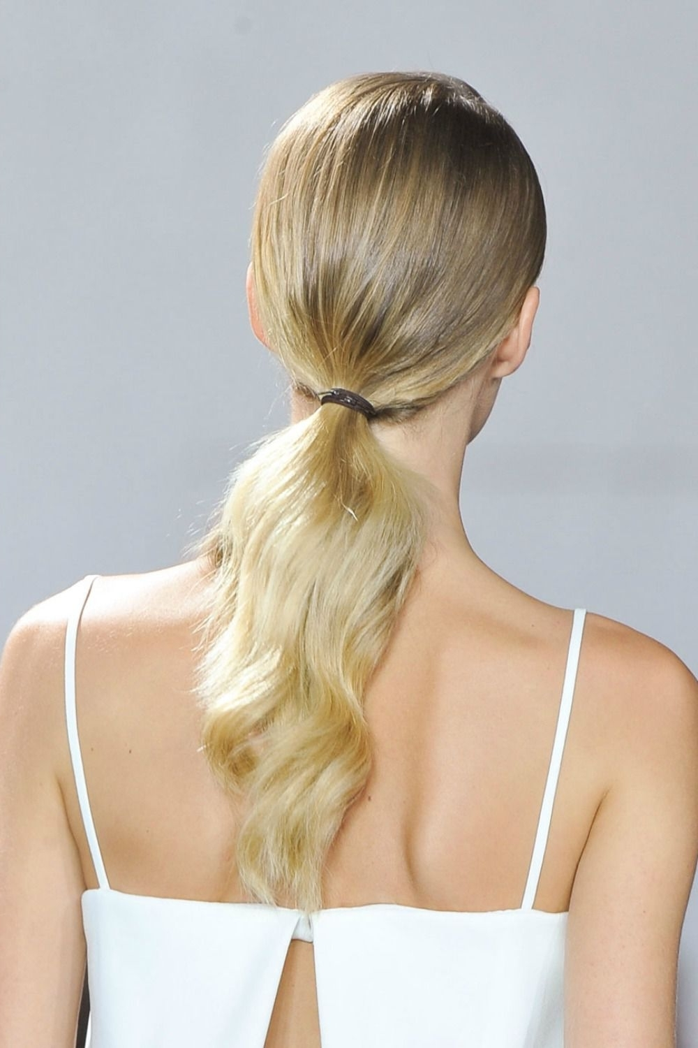 20 Ponytail Hairstyles – Easy Ponytail Ideas You Should This Summer With Recent Sleek And Shiny Ponytail Hairstyles (View 2 of 20)