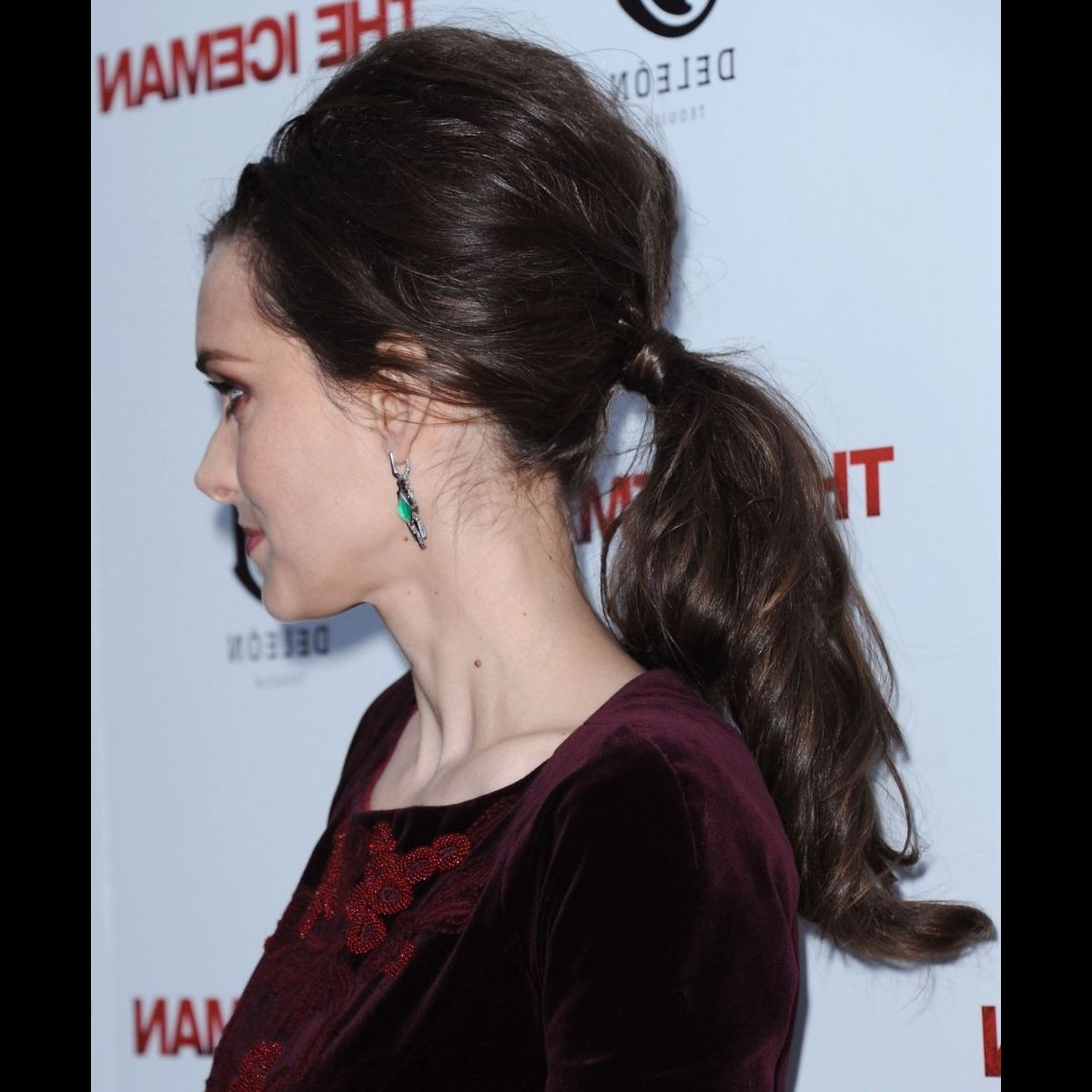 2017 Bouffant Ponytail Hairstyles Within Tutorial: Get Winona Ryder's Retro Bouffant Ponytail Hairstyle (View 2 of 20)