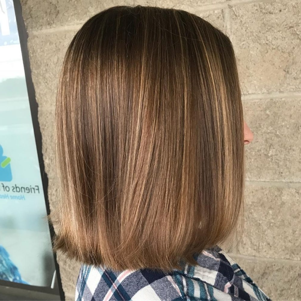 2017 Curly Caramel Blonde Bob Hairstyles With 34 Sweetest Caramel Highlights On Light To Dark Brown Hair (2018) (View 4 of 20)