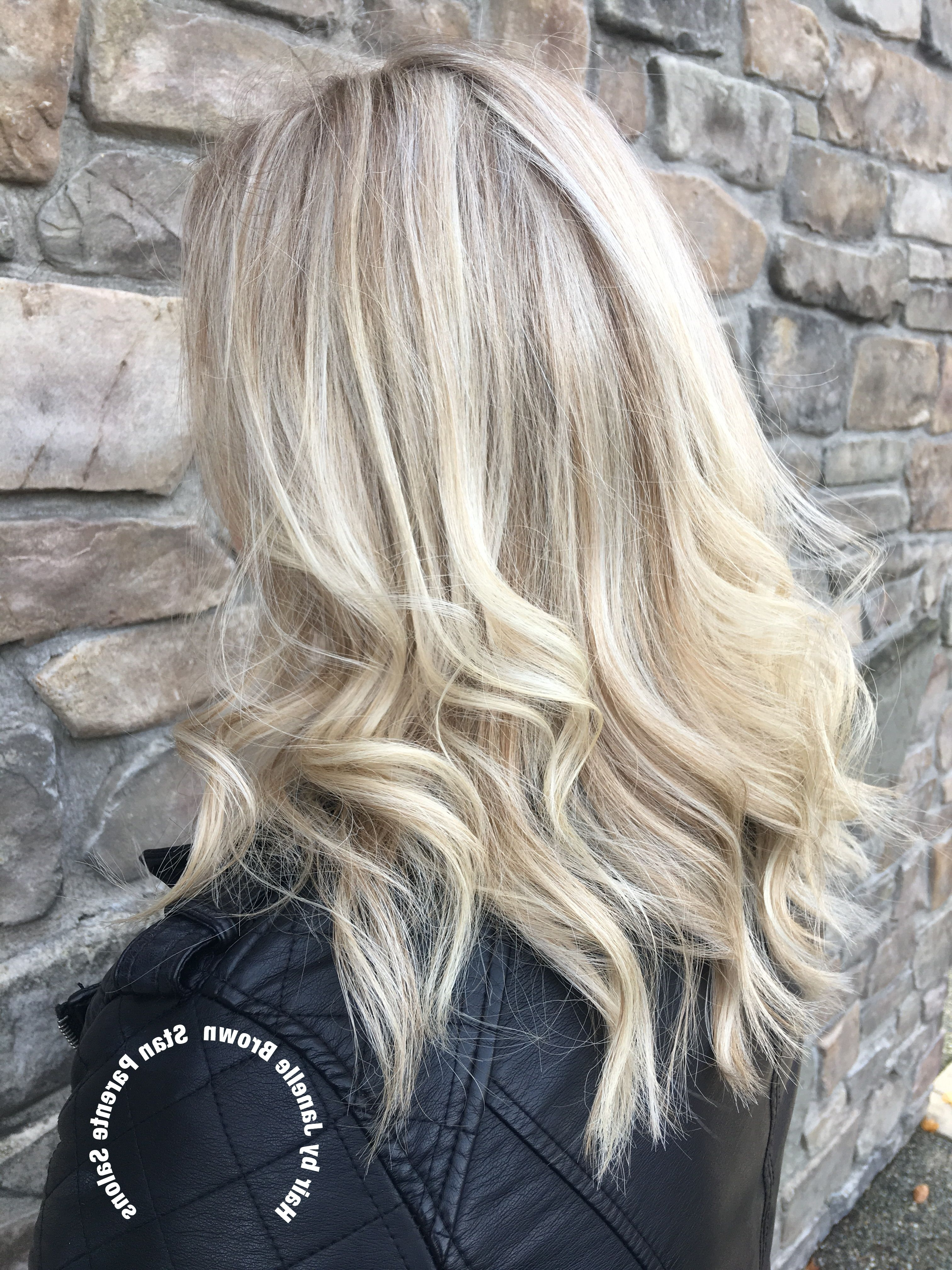 2017 Maple Bronde Hairstyles With Highlights Within Hairjanelle Brown Stan Parente Salon Maple Valley Icy Blonde (View 1 of 20)