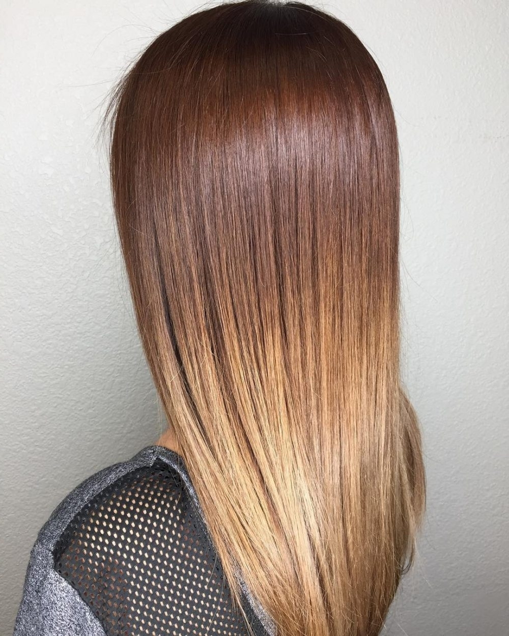 2018 Blonde Color Melt Hairstyles Throughout 29 Prettiest Hairstyles For Long Straight Hair In  (View 2 of 20)