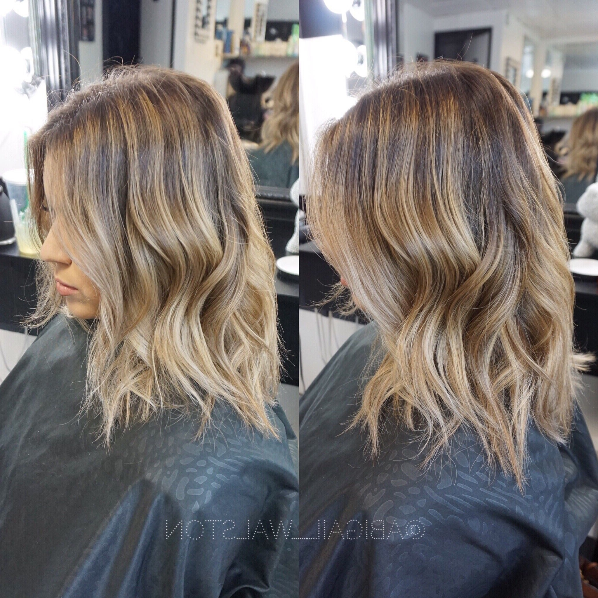 2018 Cool Dirty Blonde Balayage Hairstyles Regarding Cool Toned Sandy Blonde Babylights + Balayage Color Melt (View 8 of 20)