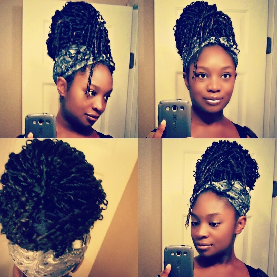 2018 Cornrows And Senegalese Twists Ponytail Hairstyles Regarding Hairstyle Gallery (View 4 of 20)
