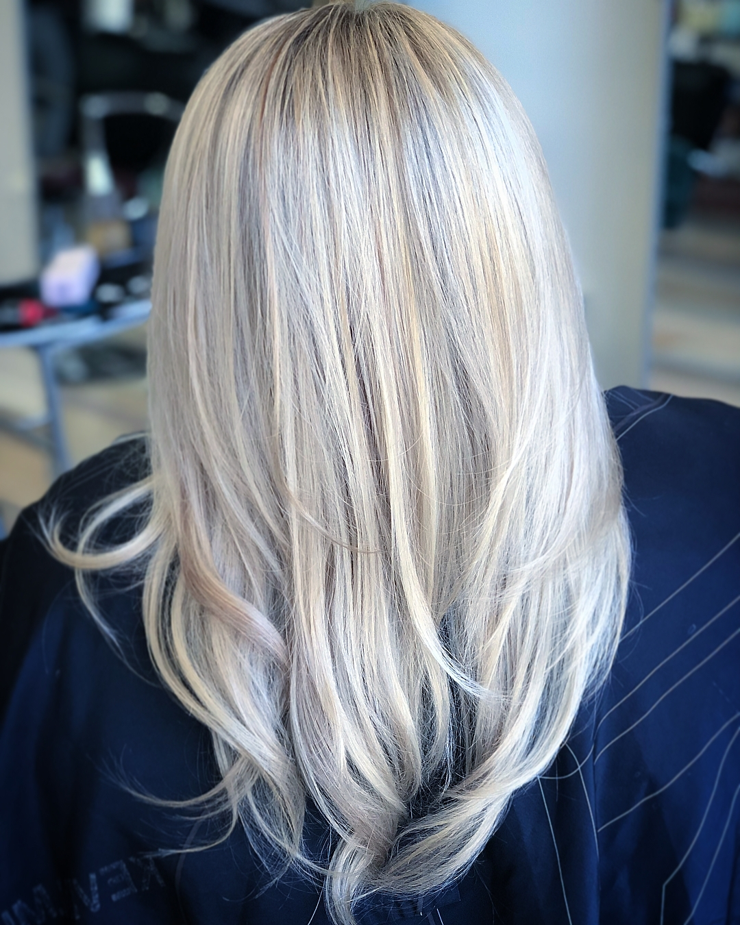 2018 Grayscale Ombre Blonde Hairstyles Pertaining To Artisinalhaircompany – Hash Tags – Deskgram (View 1 of 20)