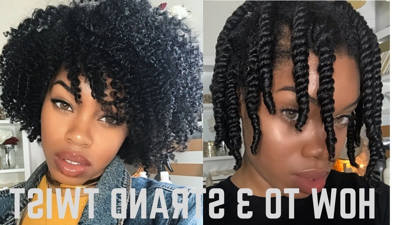 [%2018 Night Time Curls Hairstyles With How To 3 Strand Twist Out *detailed + Night Time Routine [Video|How To 3 Strand Twist Out *detailed + Night Time Routine [Video Intended For Most Recent Night Time Curls Hairstyles%] (View 1 of 20)