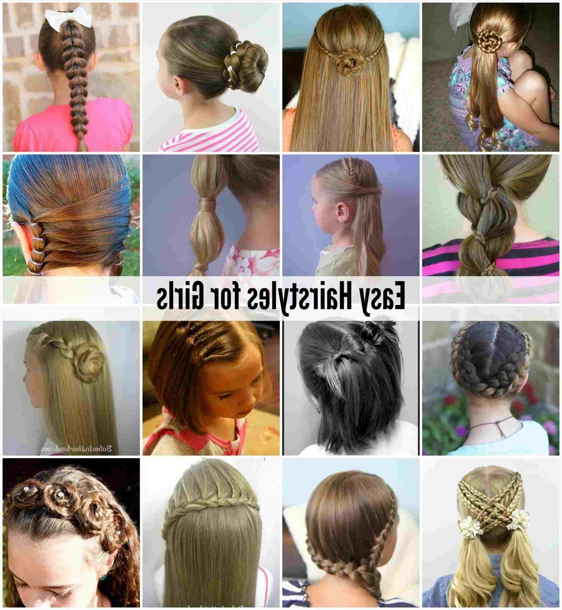 2018 Princess Ponytail Hairstyles Pertaining To Simple Hairstyle For Girls Stepstep Ponytail Hairstyles For (View 5 of 20)
