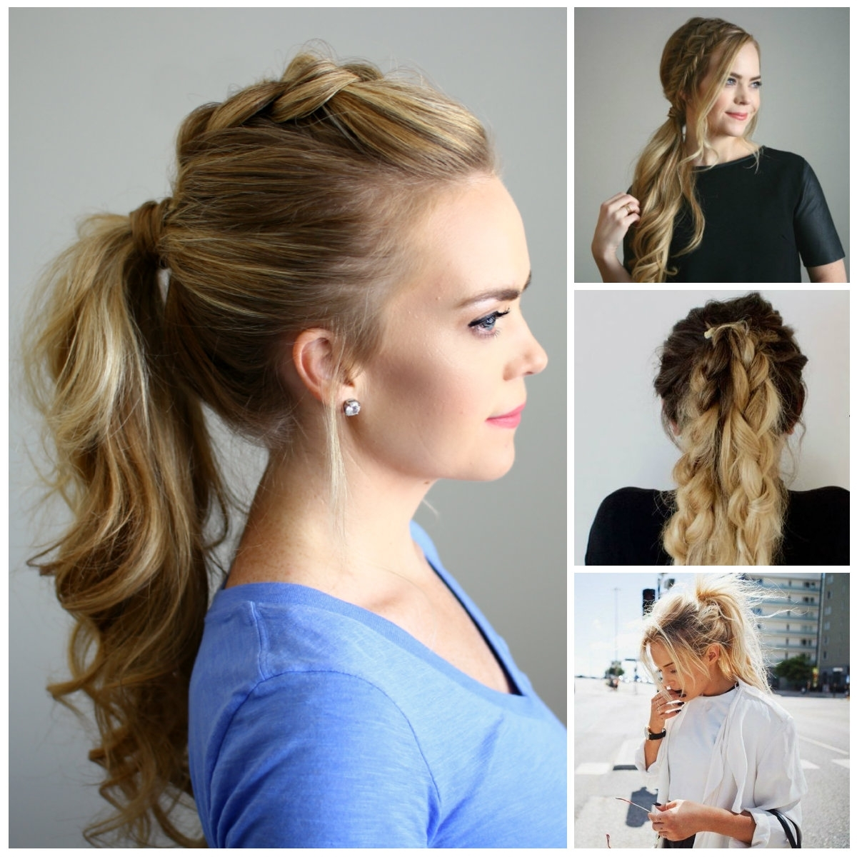 2019 Haircuts, Hairstyles And For 2018 Simple Side Messy Ponytail Hairstyles (View 3 of 20)