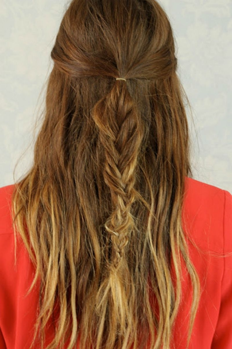 21 Gorgeous Half Up, Half Down Hairstyles (View 2 of 20)
