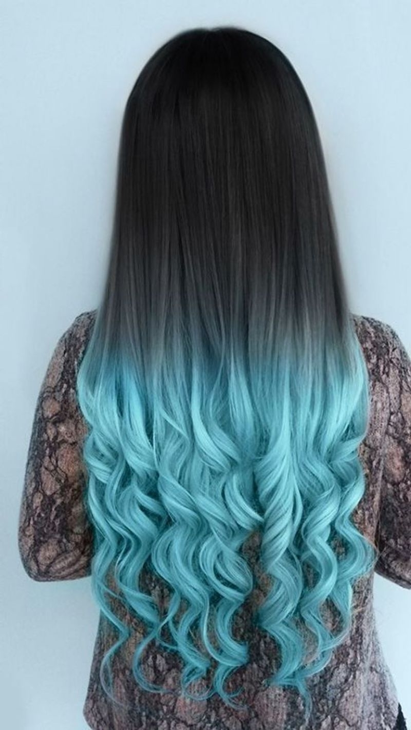 27 Trendy Blue Ombre Hairstyles For Women – Ombre Hair Ideas With Most Up To Date Subtle Brown Blonde Ombre Hairstyles (View 17 of 20)