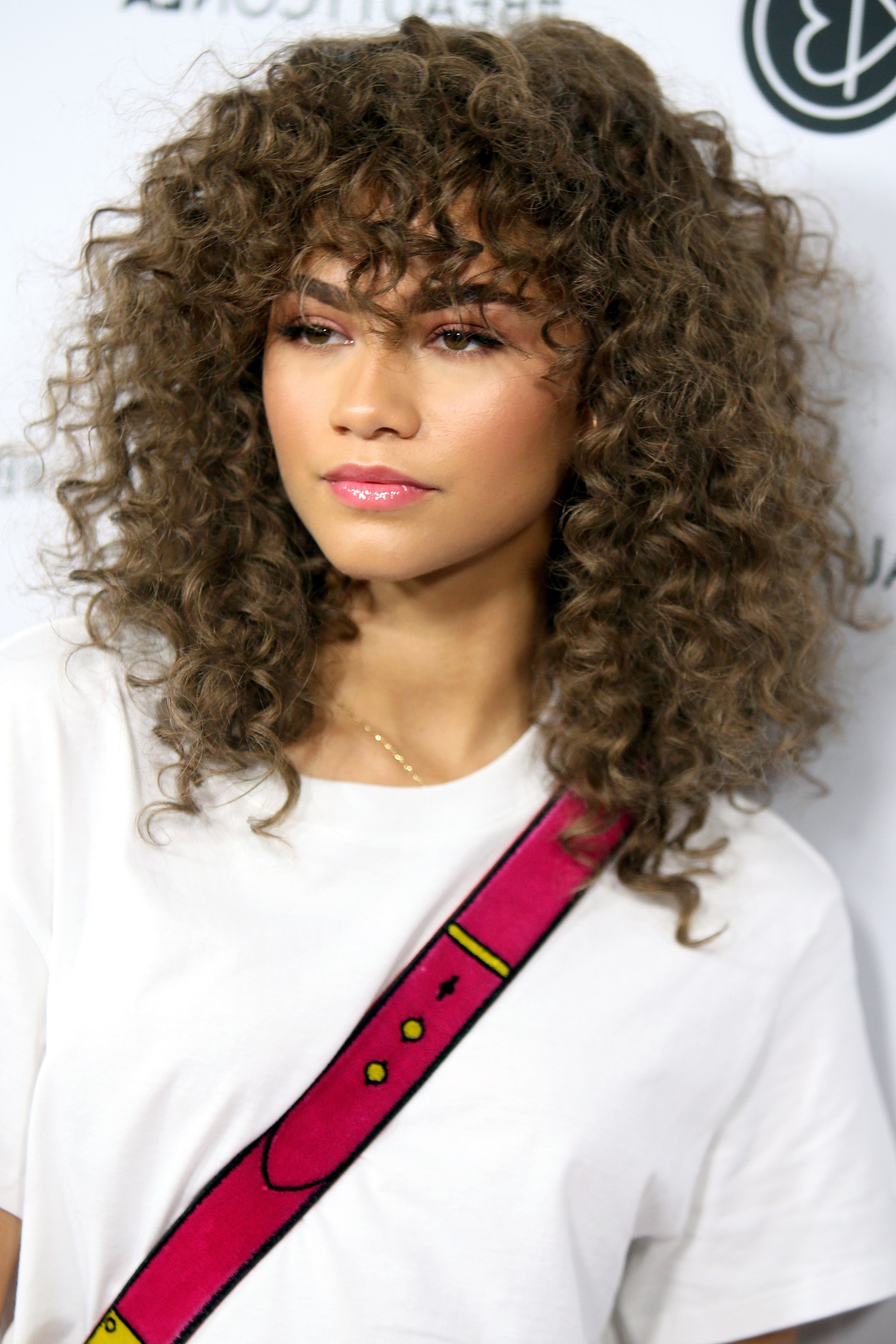 28 Easy Natural Hairstyles For Black Women – Short, Medium & Long In 2018 Natural Curly Pony Hairstyles With Bangs (View 3 of 20)