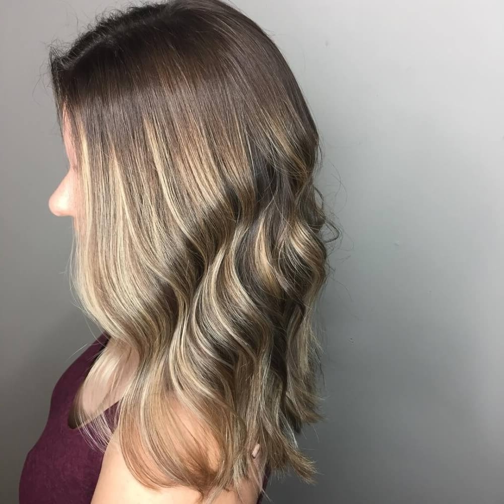 29 Cutest Long Bob Haircuts & Lob Styles Of 2018 Regarding Most Up To Date Wavy Caramel Blonde Lob Hairstyles (View 14 of 20)