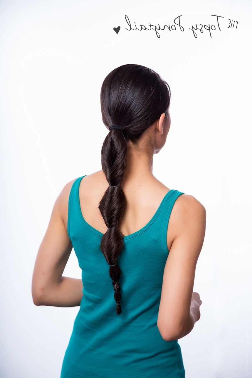 3 Easy & Stylish Must Try Ponytail Hairstyles Intended For Most Up To Date Sleek Bubble Ponytail Hairstyles (View 3 of 20)