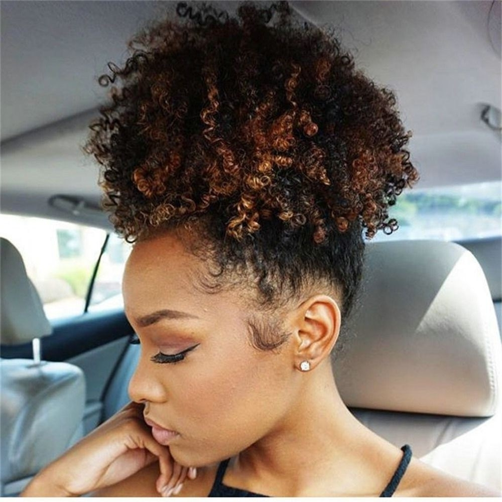 30 Brilliant Curly Ponytail Hairstyles For Black Hair ~ Louis Palace Intended For Well Liked High Curly Black Ponytail Hairstyles (View 14 of 20)