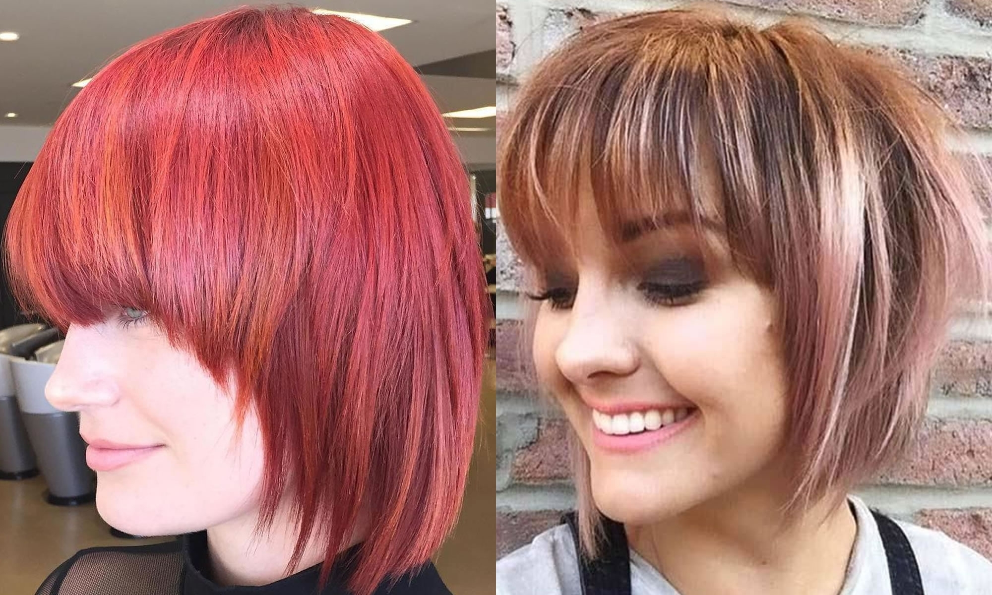 30 Ravishing Short Bob Hair Cuts With Bangs & New Hair Colors With Regard To Well Known Ravishing Red Pixie Hairstyles (View 7 of 20)