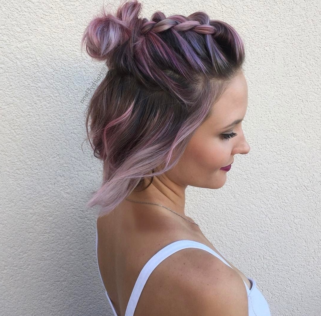 30 Swanky Braided Hairstyles To Do On Short Hair Intended For Most Recent Macrame Braid Hairstyles (View 2 of 20)