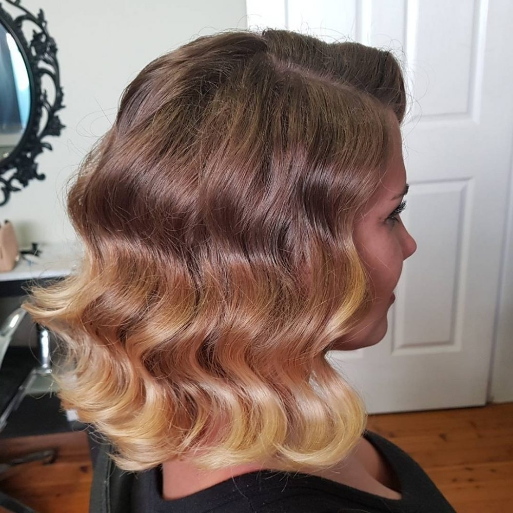 31 Vintage Hairstyles That Are Totally Hot Right Now Throughout Most Up To Date Glamorous Silver Blonde Waves Hairstyles (View 3 of 20)