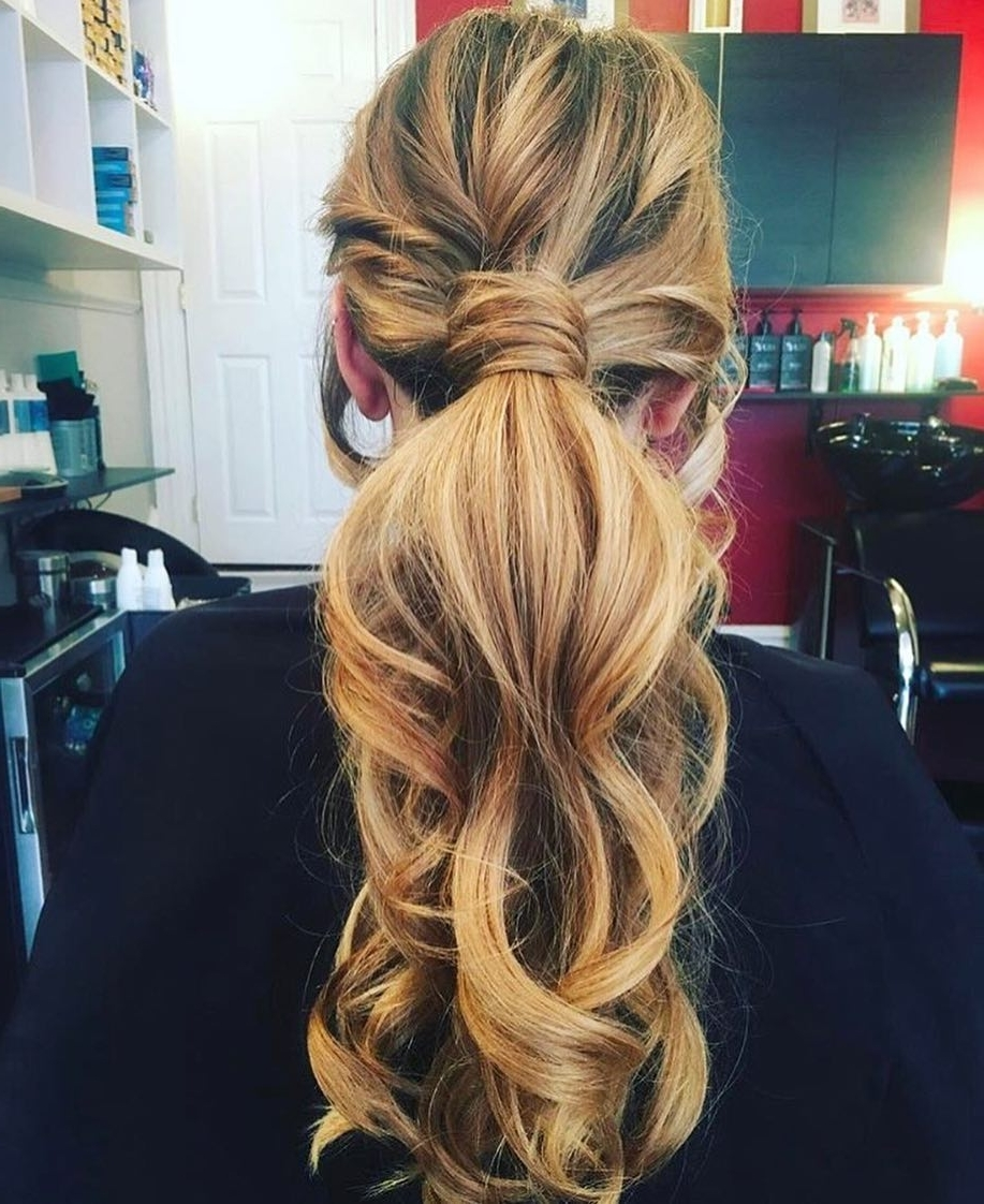 32 Casual Hairstyles That Are Quick, Chic And Easy For 2018 Throughout Well Known Braided Boho Locks Pony Hairstyles (View 2 of 20)
