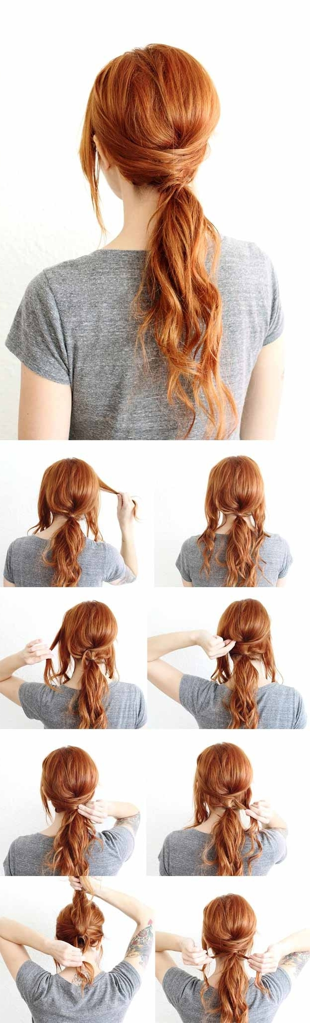 34 Super Sexy Hairstyles – The Goddess With Recent The Criss Cross Ponytail Hairstyles (View 1 of 20)