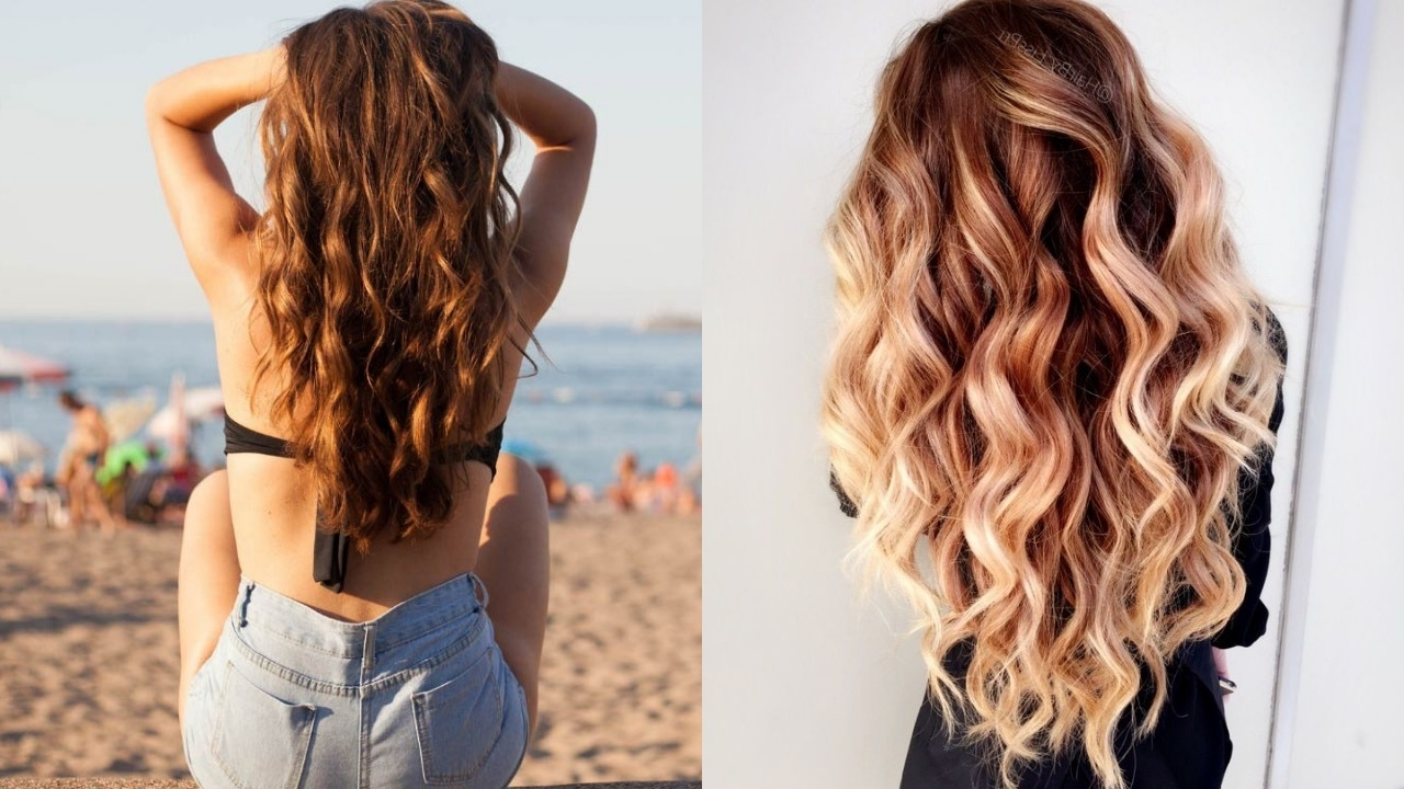 35 Gorgeous Styles To Get Beach Waves In Your Hair – Haircuts Throughout Most Current Dishwater Waves Blonde Hairstyles (View 4 of 20)