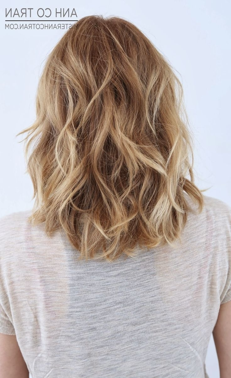 367 Best Curly Or Wavy Lobs And Bobs Images On Pinterest (View 15 of 20)