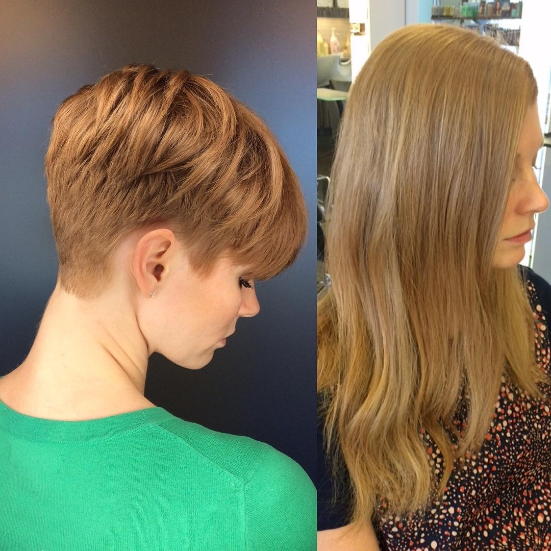 40 Cool And Contemporary Short Haircuts For Women – Popular Haircuts In Favorite Contemporary Pixie Hairstyles (View 6 of 20)