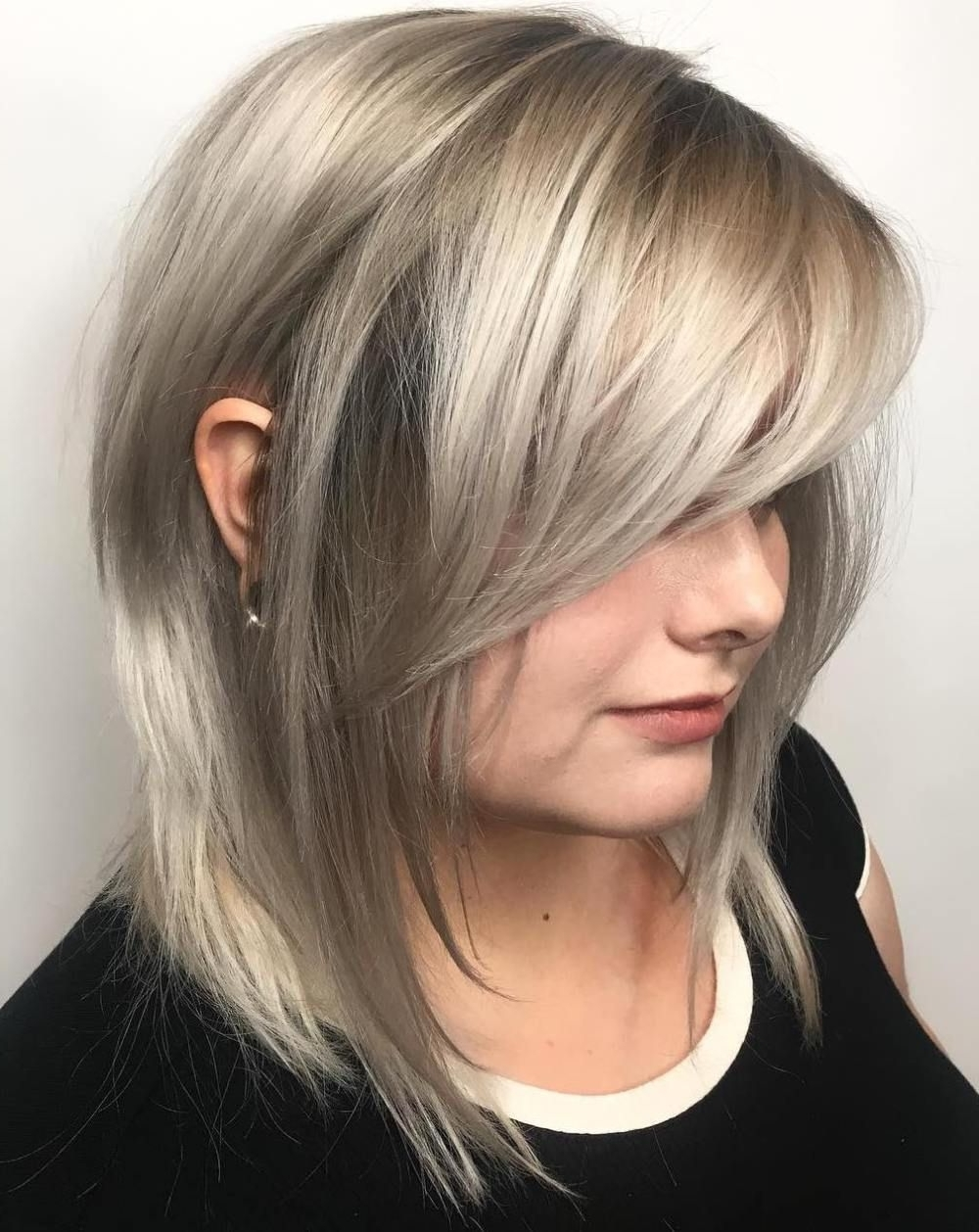 40 Side Swept Bangs To Sweep You Off Your Feet (View 18 of 20)