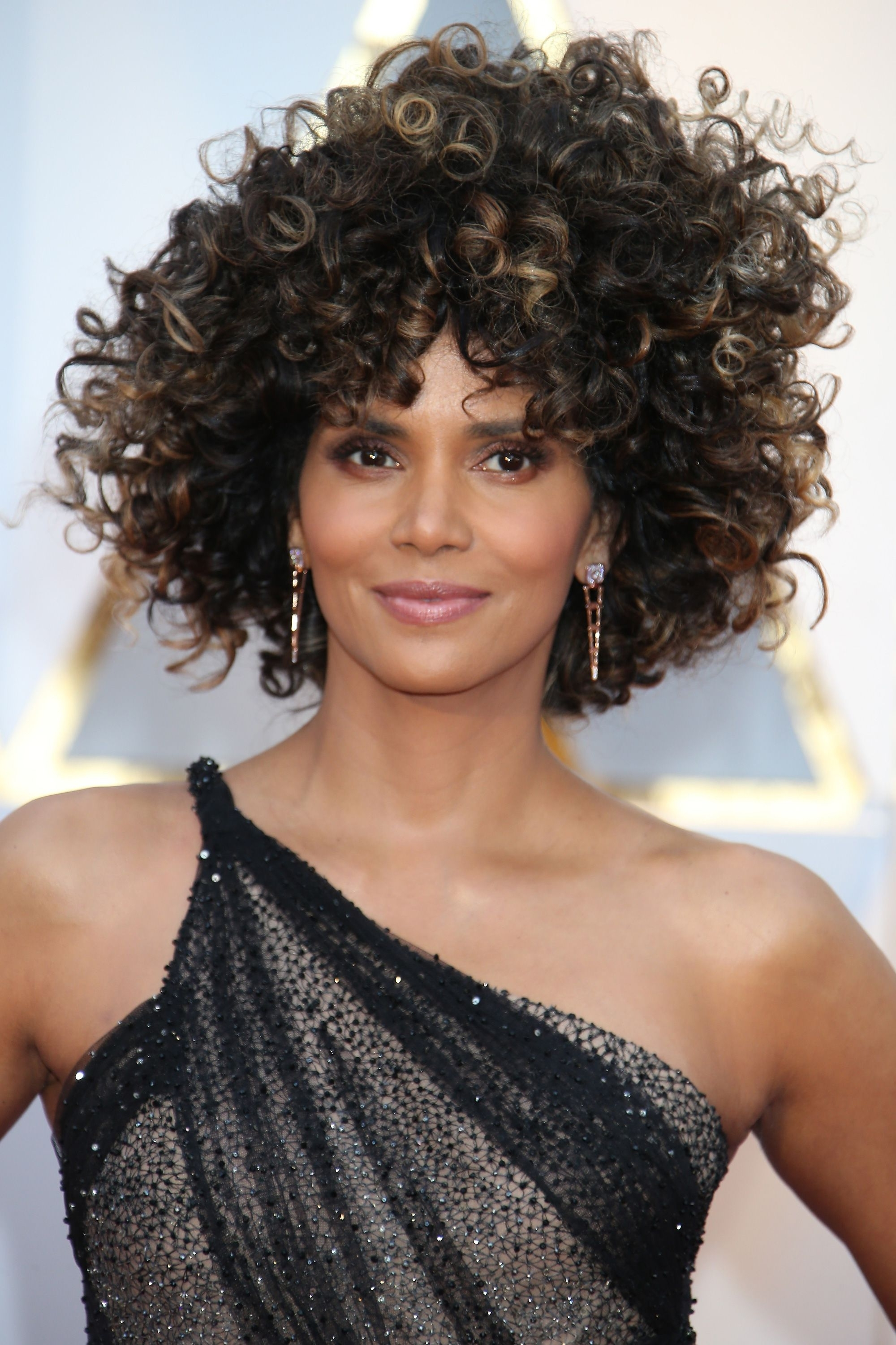 42 Easy Curly Hairstyles – Short, Medium, And Long Haircuts For For 2018 Natural Curly Pony Hairstyles With Bangs (View 5 of 20)