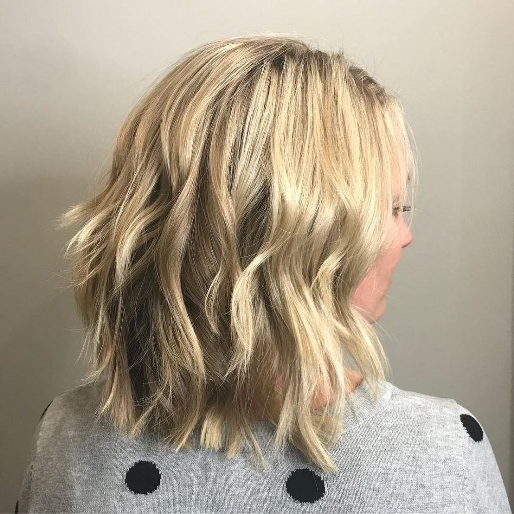 43 Greatest Wavy Bob Hairstyles – Short, Medium And Long In 2018 Throughout Best And Newest Wavy Blonde Bob Hairstyles (View 2 of 20)