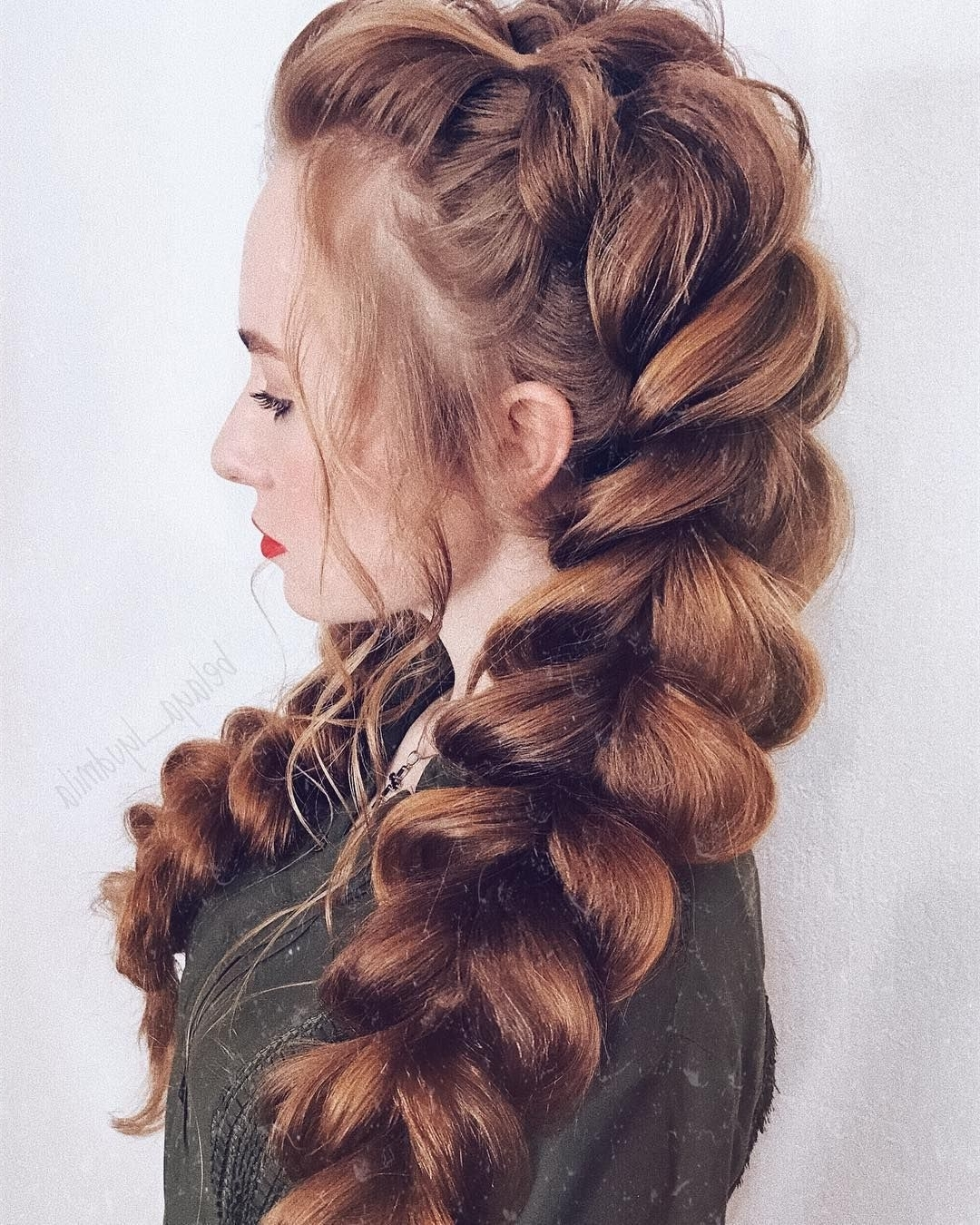 47 Braided Hairstyle Inspiration , Braids ,hairstyles ,braided Intended For Favorite Pony Hairstyles With Textured Braid (View 6 of 20)