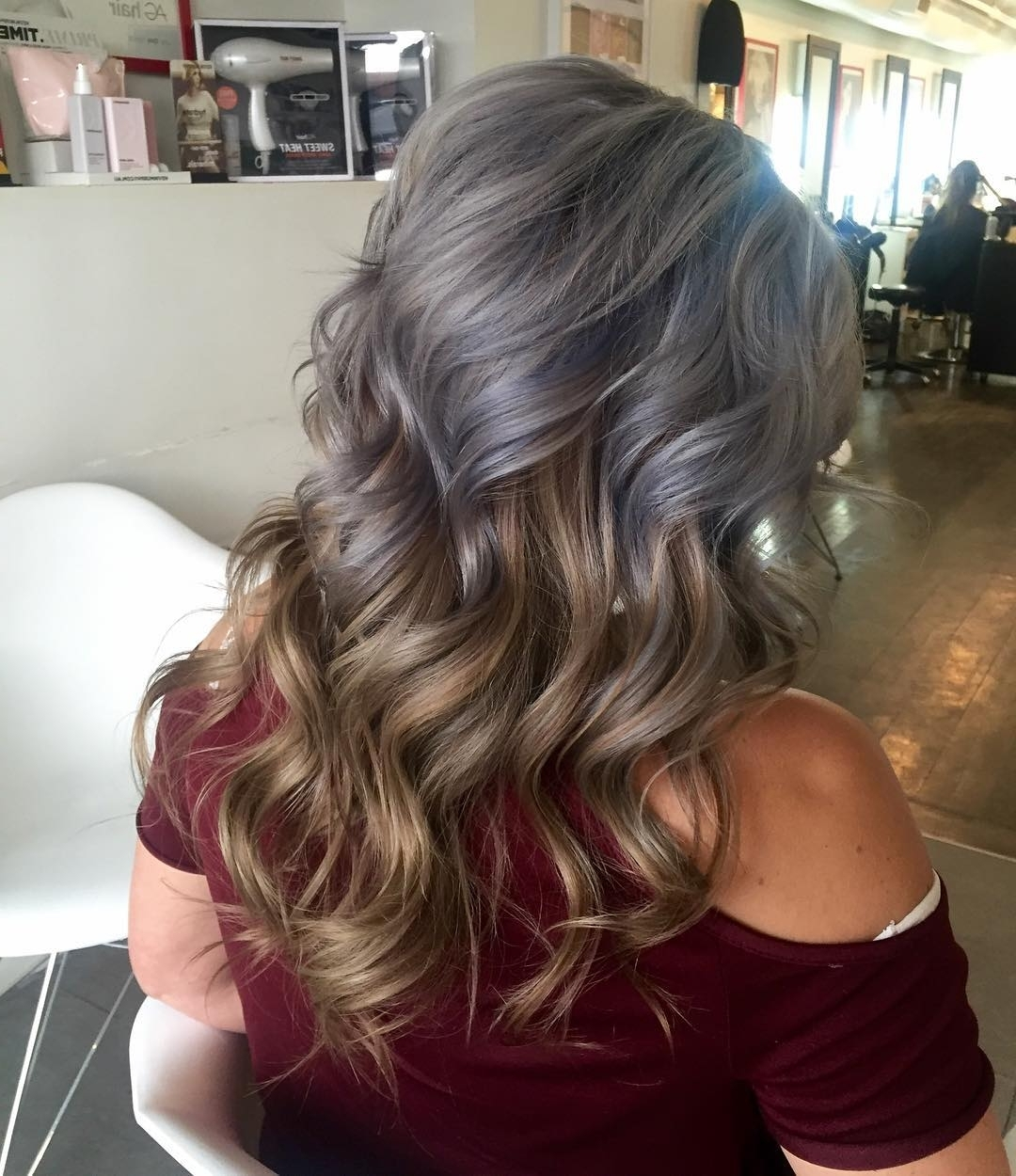 48 Looks With Reverse Ombre Hair Color (View 6 of 20)