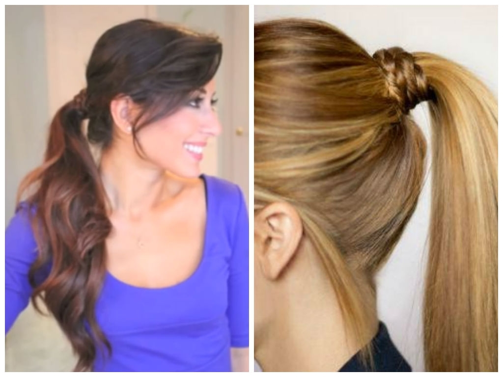 5 Best Hairstyle Ideas For Work – Hair World Magazine In Well Liked Wrapped Up Ponytail Hairstyles (View 4 of 20)