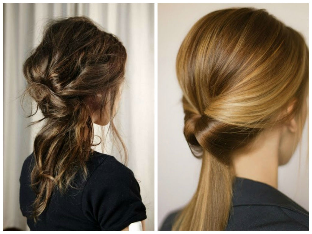 5 Best Hairstyle Ideas For Work – Hair World Magazine Inside Popular Trendy Ponytail Hairstyles With French Plait (View 4 of 20)