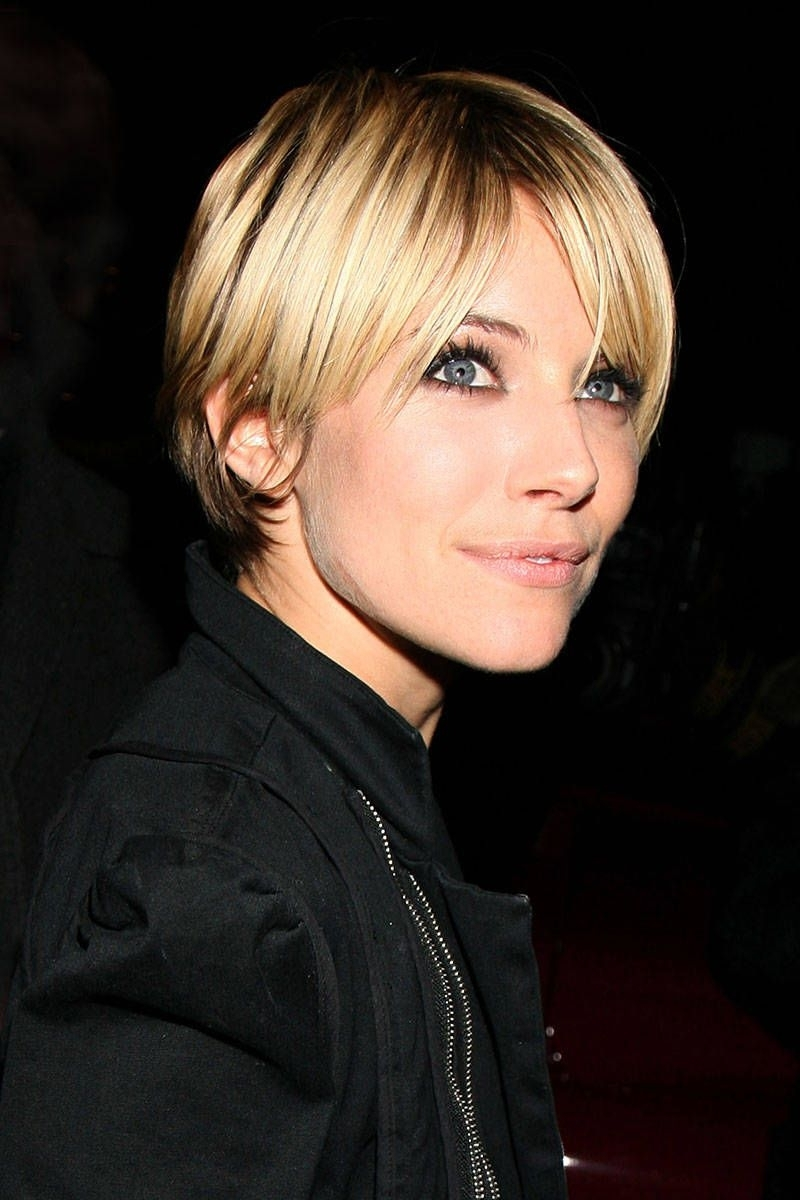 50 Best Pixie Cuts – Iconic Celebrity Pixie Hairstyles Regarding Most Recent Choppy Bowl Cut Pixie Hairstyles (View 9 of 20)