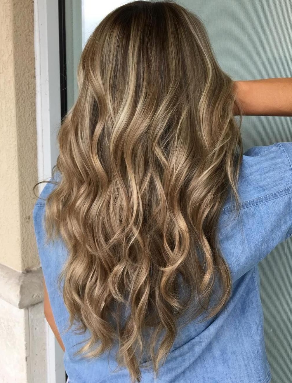Photo Gallery Of Beige Balayage For Light Brown Hair Viewing 2 Of