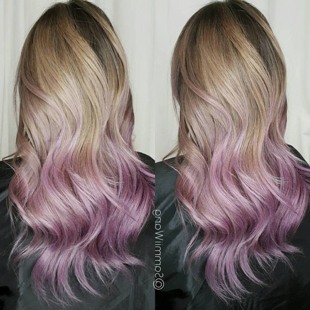 50 Cool Ideas Of Lavender Ombre Hair And Purple Ombre (View 8 of 20)
