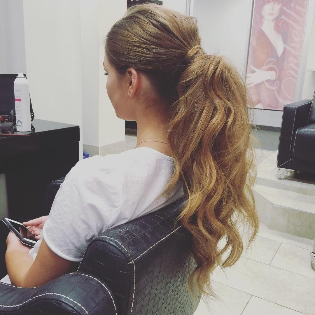 50 Head Turning Messy Ponytail Hairstyles — Casual Elegance Within Latest Pumped Up Messy Ponytail Hairstyles (View 2 of 20)