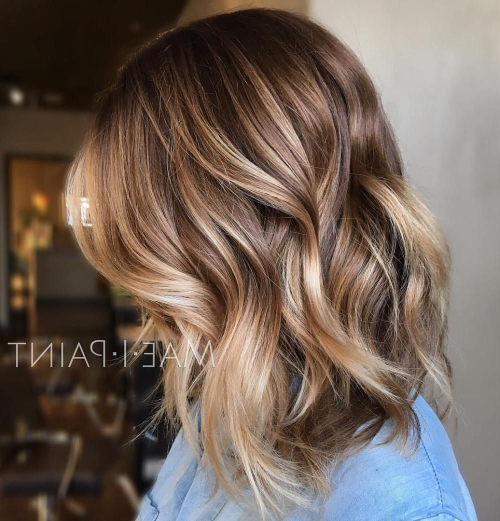 50 Ideas For Light Brown Hair With Highlights And Lowlights Within 2017 Light Copper Hairstyles With Blonde Babylights (View 7 of 20)