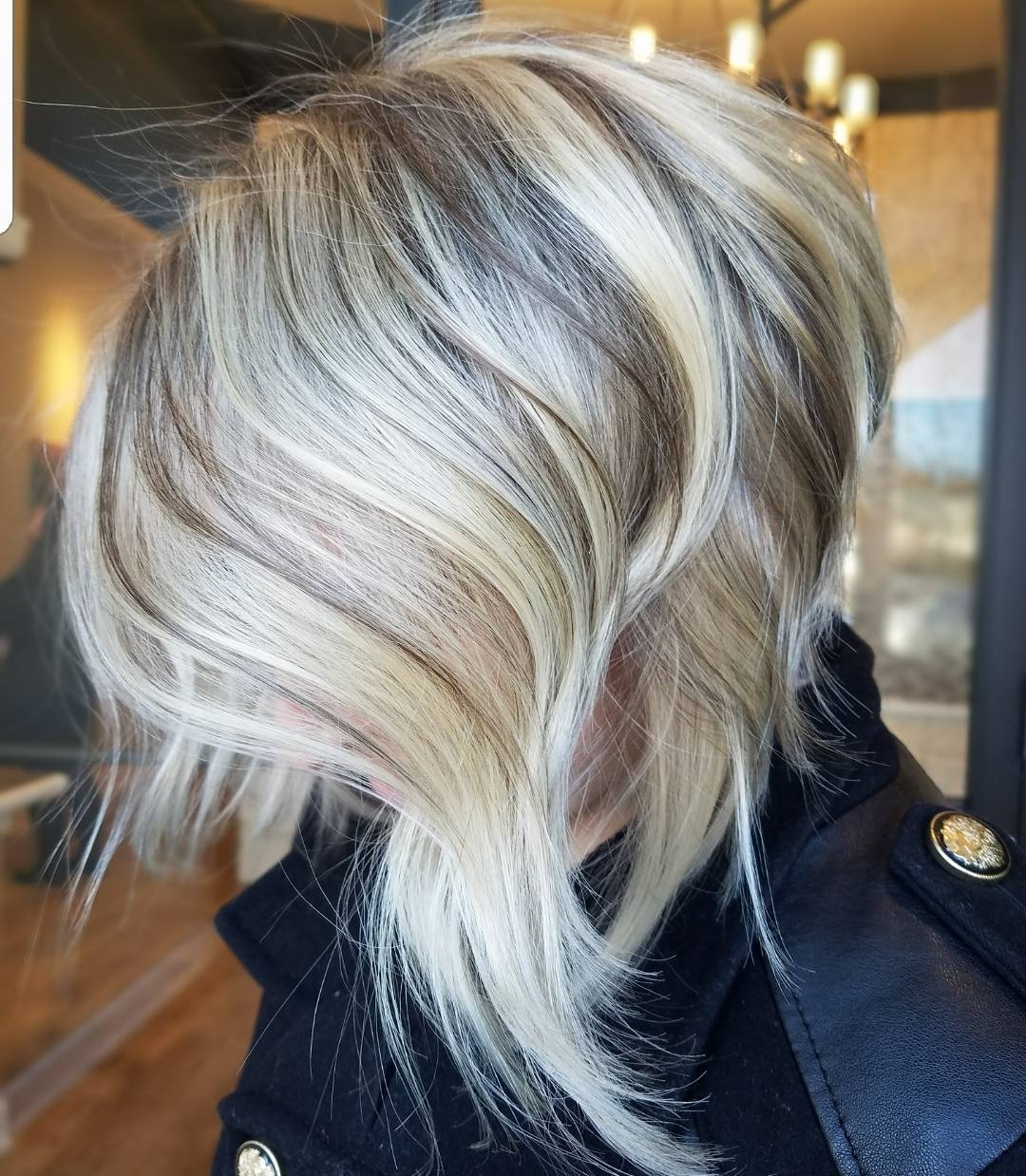 50 Messy Bob Hairstyles For Your Trendy Casual Looks – Page 13 Of 40 Throughout Trendy Messy Blonde Lob With Lowlights (View 3 of 20)
