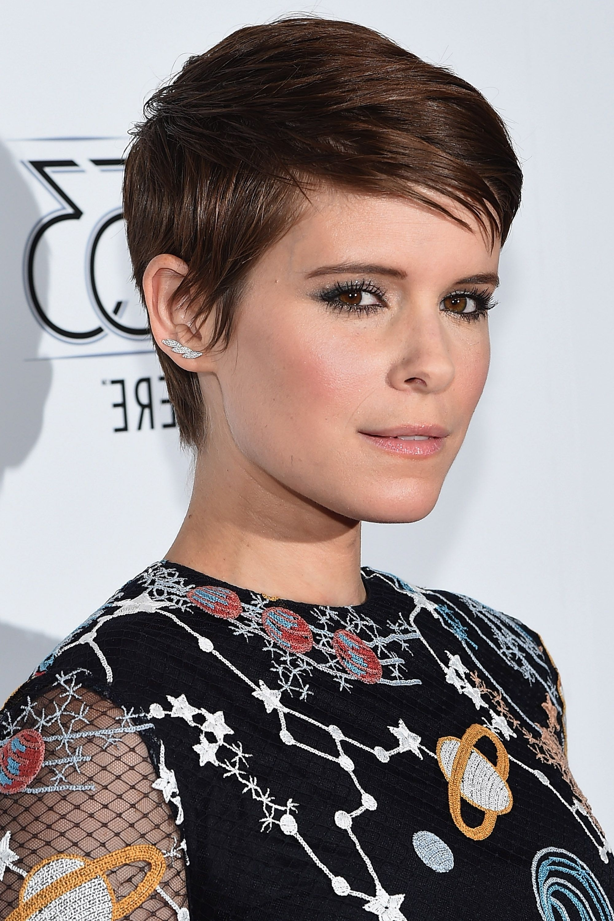 50+ Pixie Cuts We Love For 2018 – Short Pixie Hairstyles From Intended For Latest Choppy Asymmetrical Black Pixie Hairstyles (View 4 of 20)