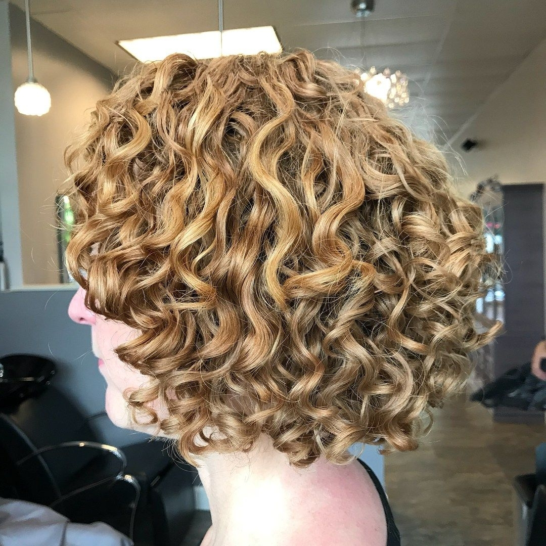 55 Different Versions Of Curly Bob Hairstyle (View 10 of 20)