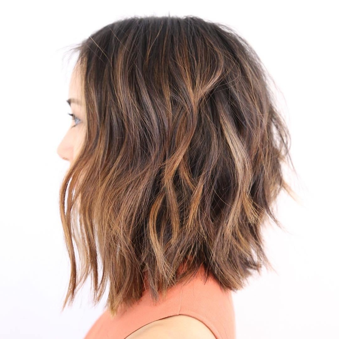 60 Hottest Balayage Hair Color Ideas 2018 – Balayage Hairstyles For With Regard To Preferred Brown Blonde Balayage Lob Hairstyles (View 5 of 20)