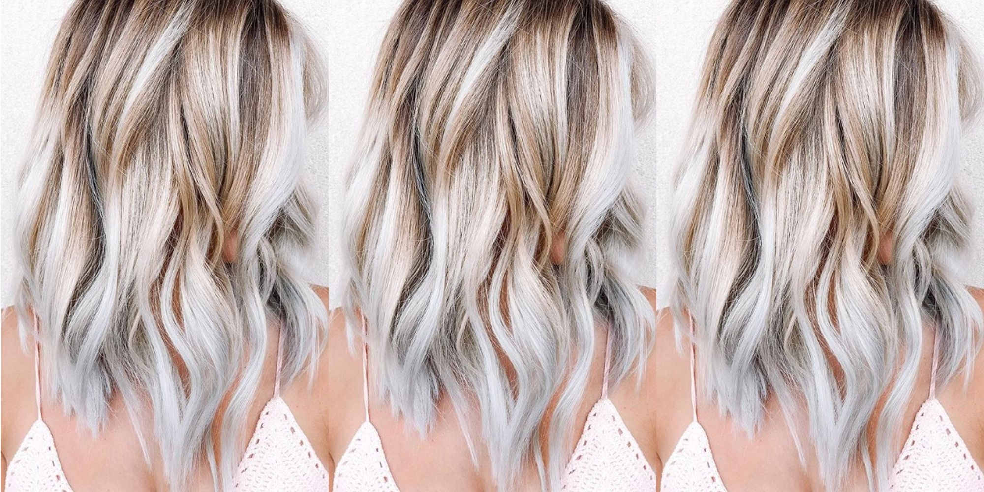7 Blonde Hair Trends For Summer 2018 – New Ways To Try Blonde Hair Inside Well Known White Blonde Hairstyles For Brown Base (View 10 of 20)
