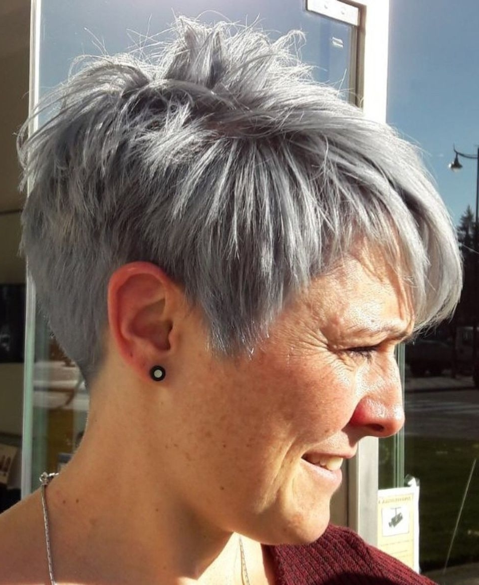 90 Classy And Simple Short Hairstyles For Women Over 50 In 2018 Inside Best And Newest Tapered Pixie Hairstyles With Maximum Volume (View 10 of 20)