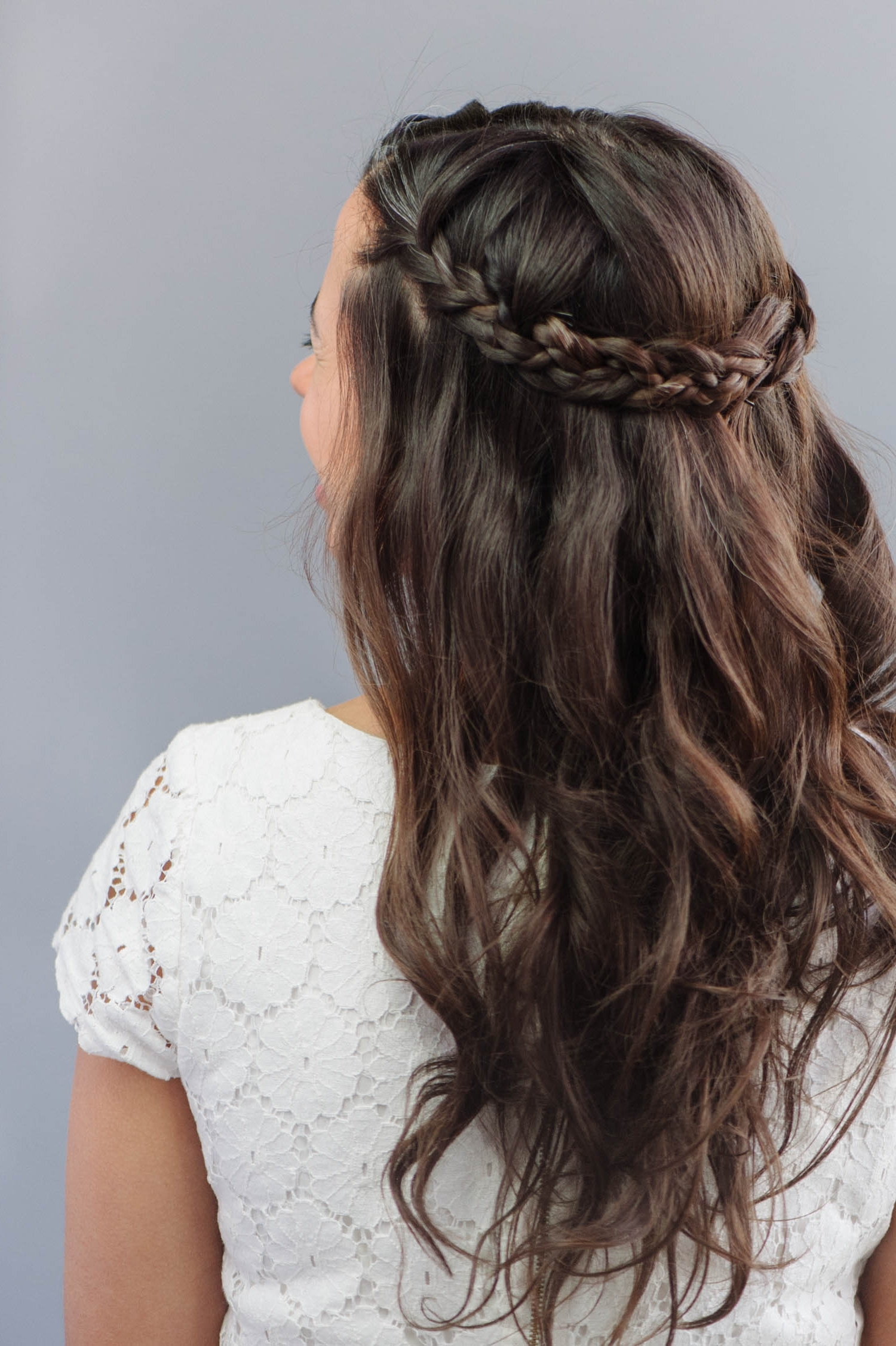A Practical Wedding Intended For Famous Braided Along The Way Hairstyles (View 6 of 20)