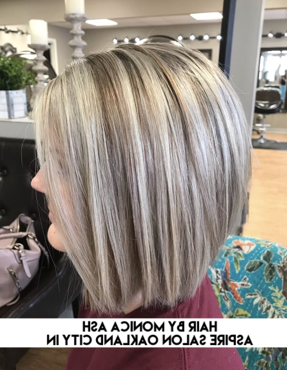 A Sweet Icy Blonde ❤ With A Choppy Bob Haircutmonica Ash At Inside Well Known Icy Blonde Shaggy Bob Hairstyles (View 14 of 20)