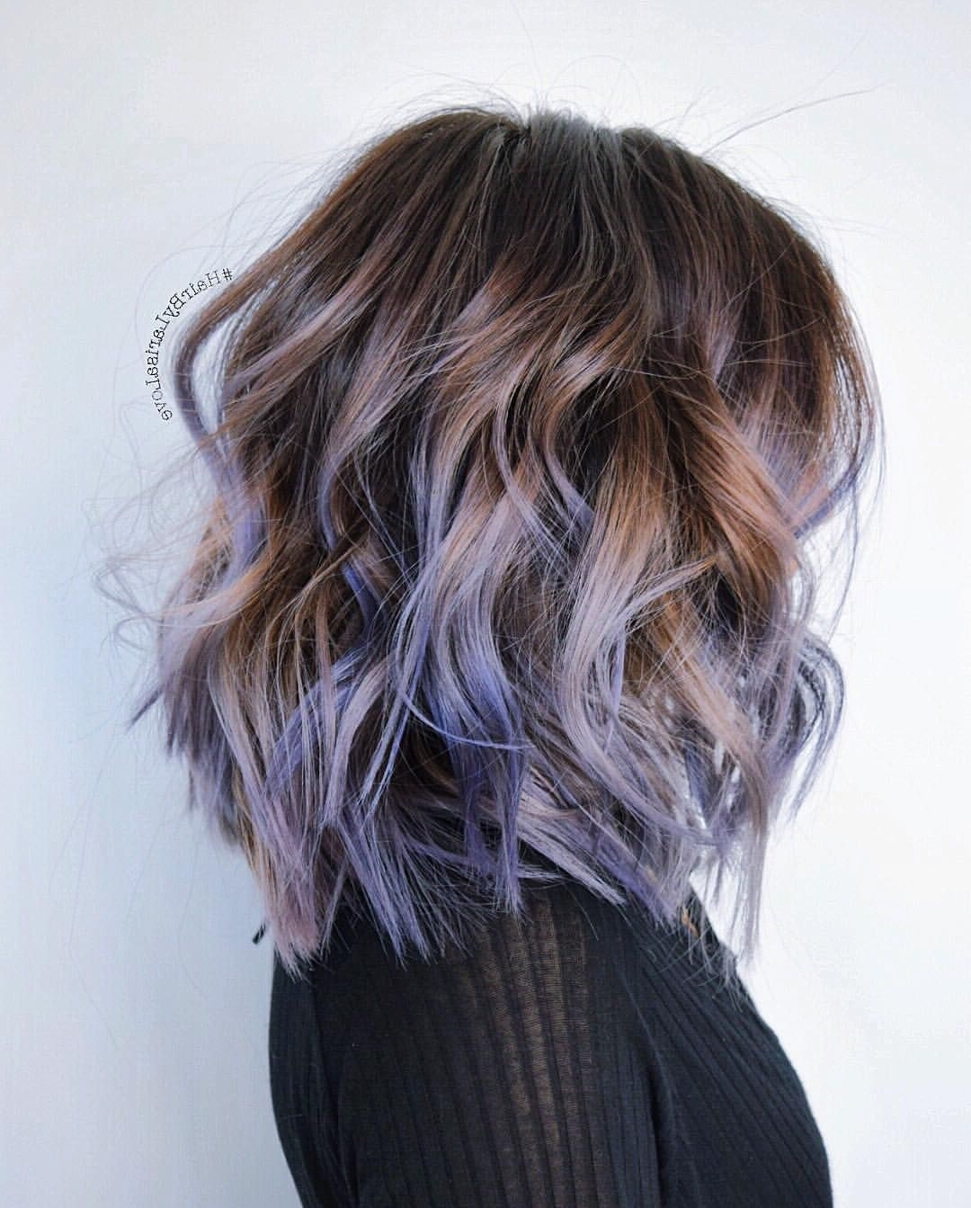 A Touch Of Lavender. #hairbylarisalove … (Gallery 9 of 20)