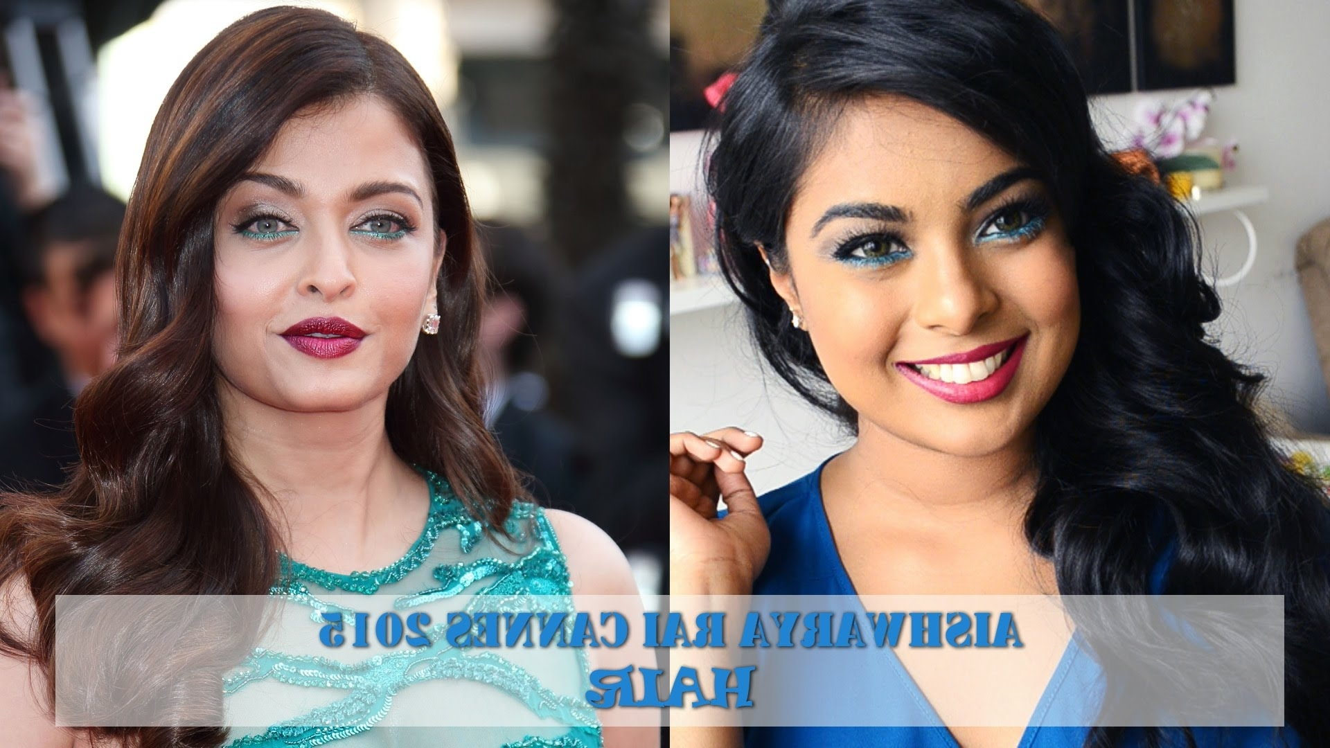 Aishwarya Rai Cannes 2015 Hair: Old Hollywood Retro Glam Hair With Fashionable Retro Glam Ponytail Hairstyles (View 5 of 20)