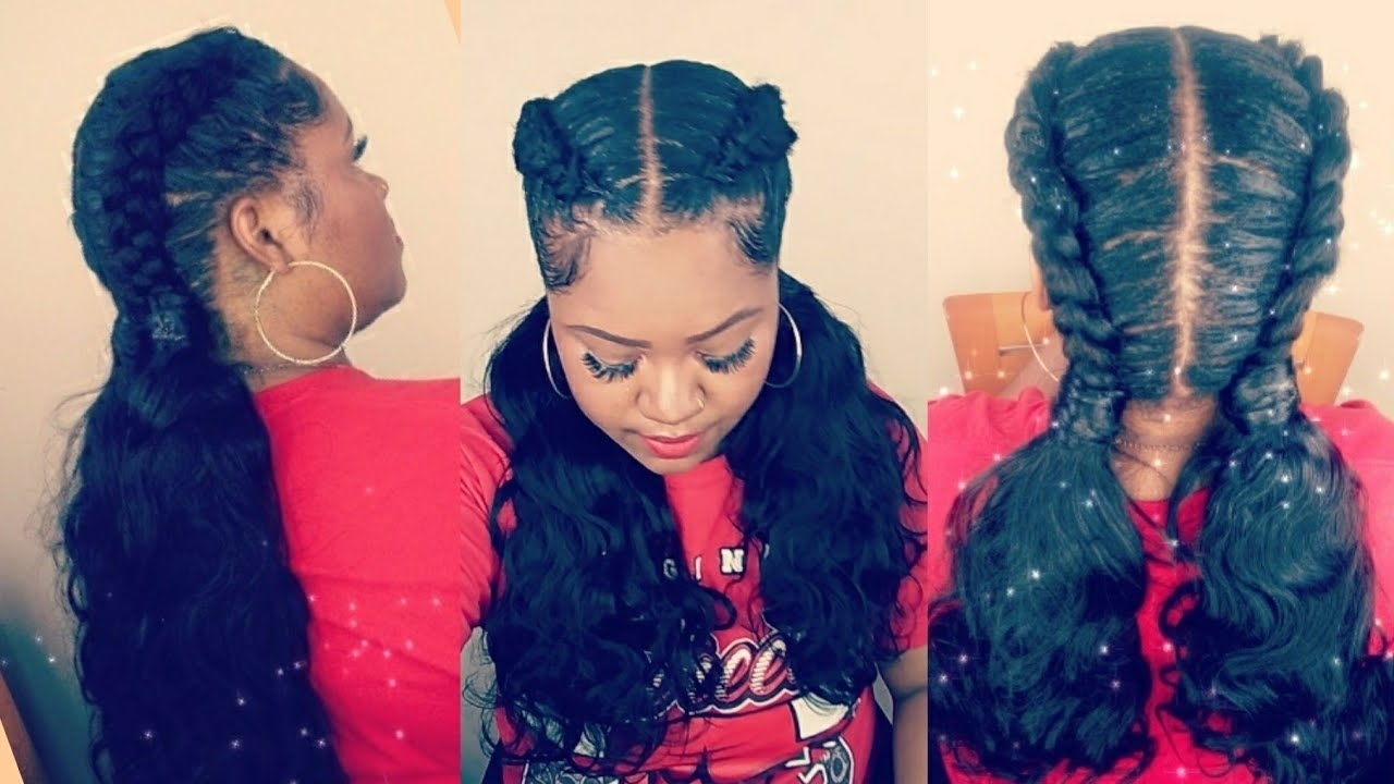 Aliexpress Luvin Inside Trendy Chocolatey Pony Hairstyles With Wavy Edges (View 2 of 20)